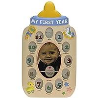 私の最初年赤ちゃんボトルコラージュフレーム 15