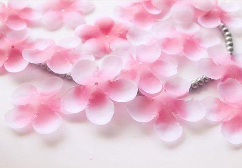 入学 お花見 シーズンに! 桜吹雪 桜の 造花 花びら 10...
