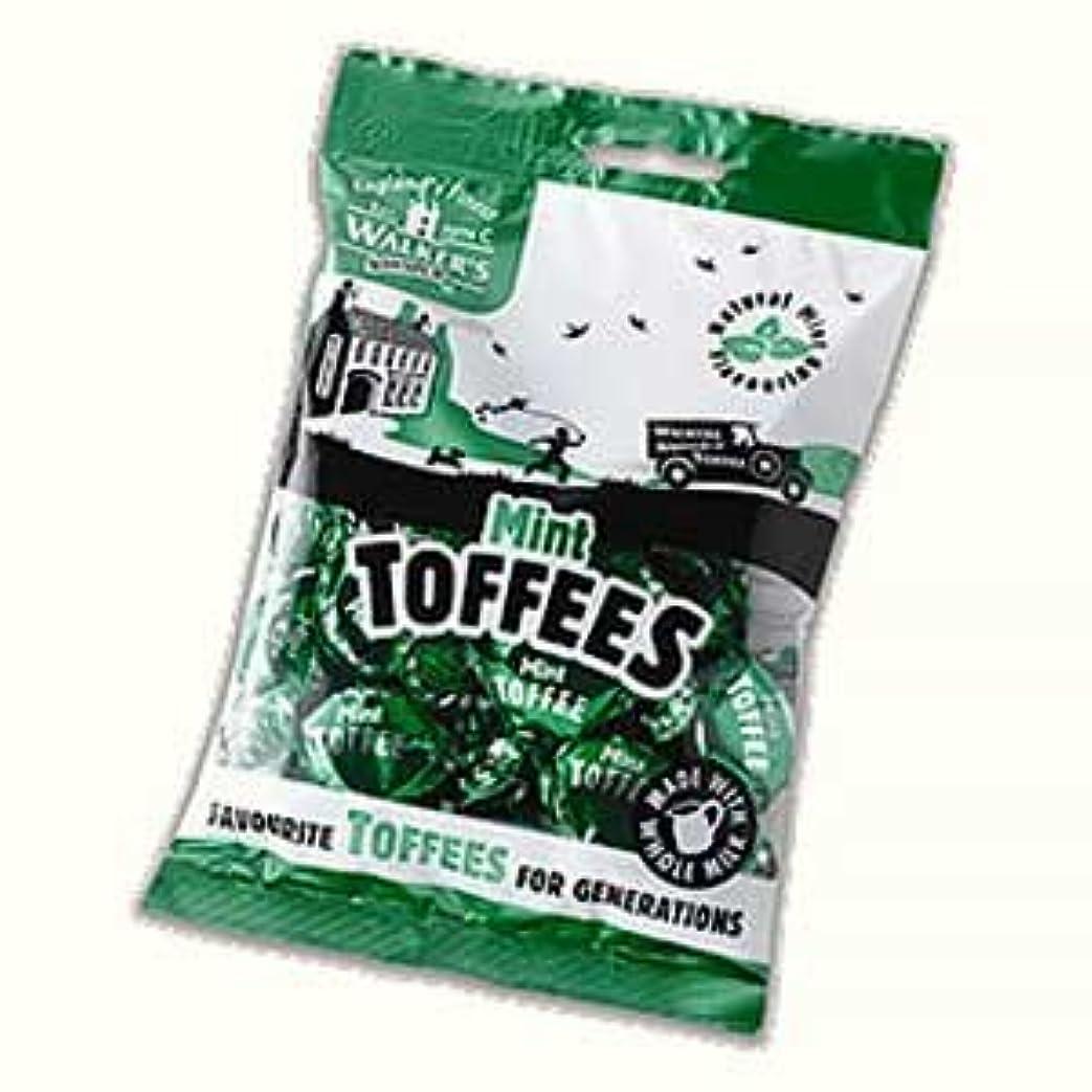思想令状フリースWalkers Nonsuch Mint Toffee 150g bag x 6 - ウォーカーズミントトフィー150g x 6パック