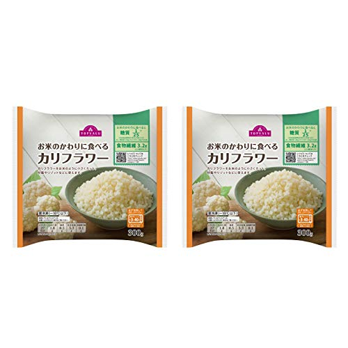 トップバリュー お米のかわりに食べる カリフラワー 300g カリフラワーライス 金曜日のスマイルたちへ (2袋)