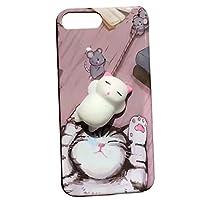 OUYOU iPhoneケース 可愛い 3Dケース 猫 肉球 高品質 軽量 落下防止 衝撃吸収 擦り傷防止 iPhone X用 保護ケース