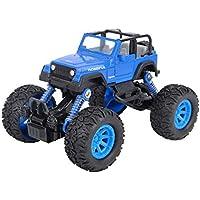 OWIKAR プルバックカー 合金ダイキャストトラックレースカーバギー機能 おもちゃの車 子供の幼児のパーティーの記念品 ダイカスト車のおもちゃ遊び ブルー