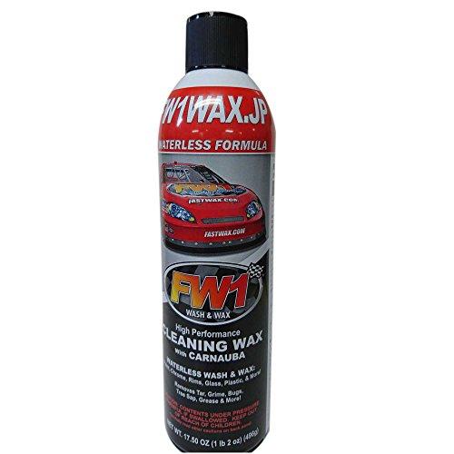 水を使わない洗車&ワックス剤