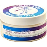 Spa Island 5.7oz Lavender Calming Body Butter Cream - Pack of 3