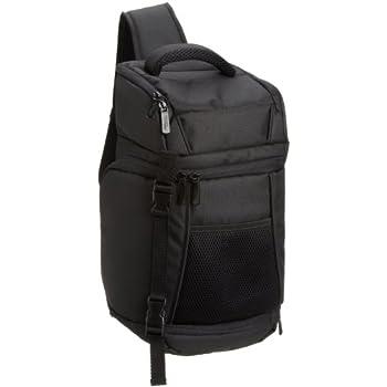 Amazonベーシック カメラバッグ スリングバッグ 一眼レフ用 7.7L ブラック