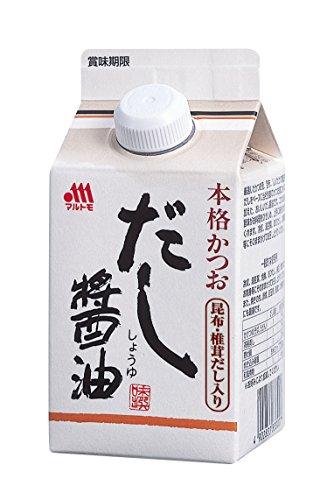 マルトモ 本格かつおだし醤油 300ml×3個