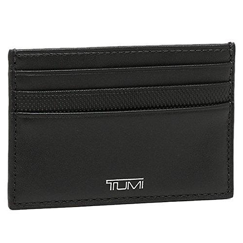 (トゥミ) TUMI トゥミ カードケース TUMI 14470 D PRISM CARD LEATHER CASE パスケース BLACK [並行輸入品]