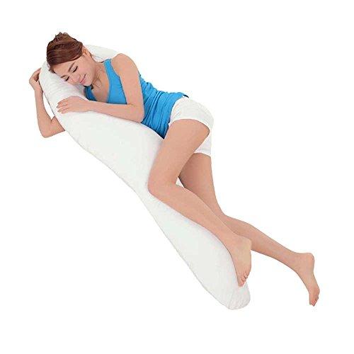 Meiz 気持ちいい抱きまくら だかれ枕 横寝 クッション 妊婦 抱き枕 本体(カバー付) 柔らかい