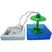 OVERMALおもちゃMagic Game DIY Splashing Fountainトイ教育科学キットLandscape Toys