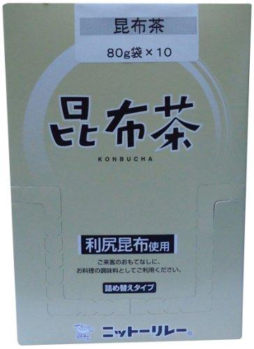 ニットーリレー 昆布茶 10袋入