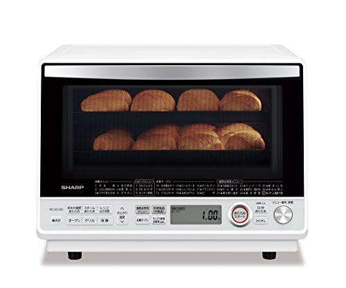 シャープ 過熱水蒸気オーブンレンジ 2段調理 31L ホワイト RE-SS10D-W