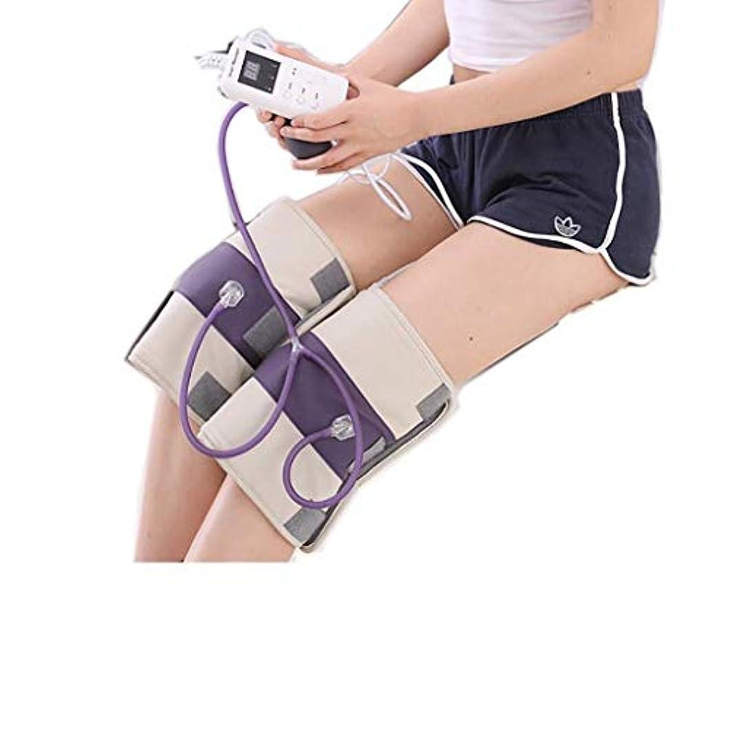 スチール全能夫熱くする足のマッサージャー、マッサージの膝パッド、膝の振動マッサージ、M/熱い圧縮/磁気療法、3つの温度調節、理性的なタイミング