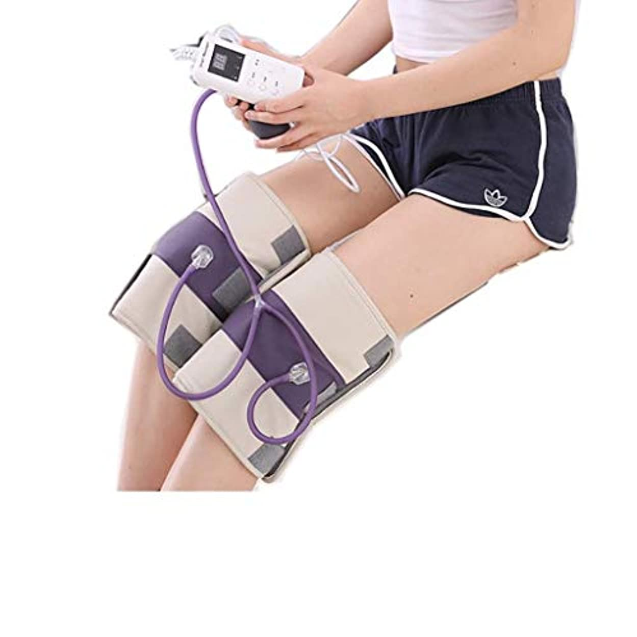 資料バンガロー希少性熱くする足のマッサージャー、マッサージの膝パッド、膝の振動マッサージ、M/熱い圧縮/磁気療法、3つの温度調節、理性的なタイミング