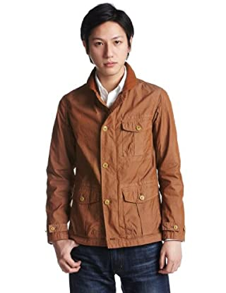 Shawl Collar Hunting Jacket 11-18-0062-791: Brown