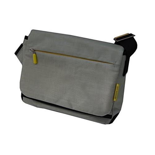 マンダリナダック MANDARINA DUCK PC タブレット収納 ビジネス ショルダーバッグ メッセンジャーバッグ ライトグレー 28×21×9 507314 正規品【並行輸入品】