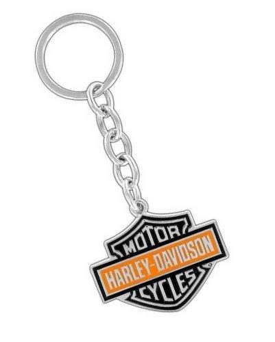 ハーレーダビッドソン メタルキーリング 2カラー B&S ロゴ #HDKD15 /Harley-Davidson/キーホルダー・キーチェーン/アメリカン雑貨/
