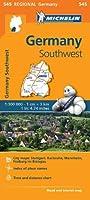 Germany Southwest - Michelin Regional Map 545 (Michelin Regional Maps)