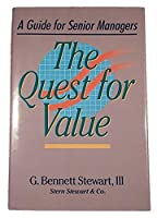 The Quest for Value (A Guide for Senior Managers) 1999 [並行輸入品]