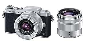 Panasonic ミラーレス一眼カメラ DMC-GF7ダブルズームレンズキット 標準ズームレンズ/望遠ズームレンズ付属 シルバー DMC-GF7W-S