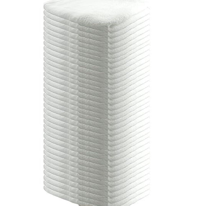 ロゴ伴う実用的業務用 フェイスタオル 平地付き 綿100% 160匁 34x85cm (36枚セット)