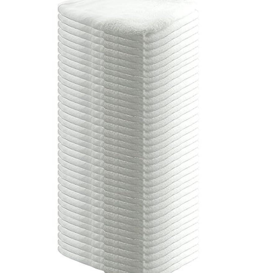 洗練リーブッシュ業務用 フェイスタオル 平地付き 綿100% 160匁 34x85cm (36枚セット)