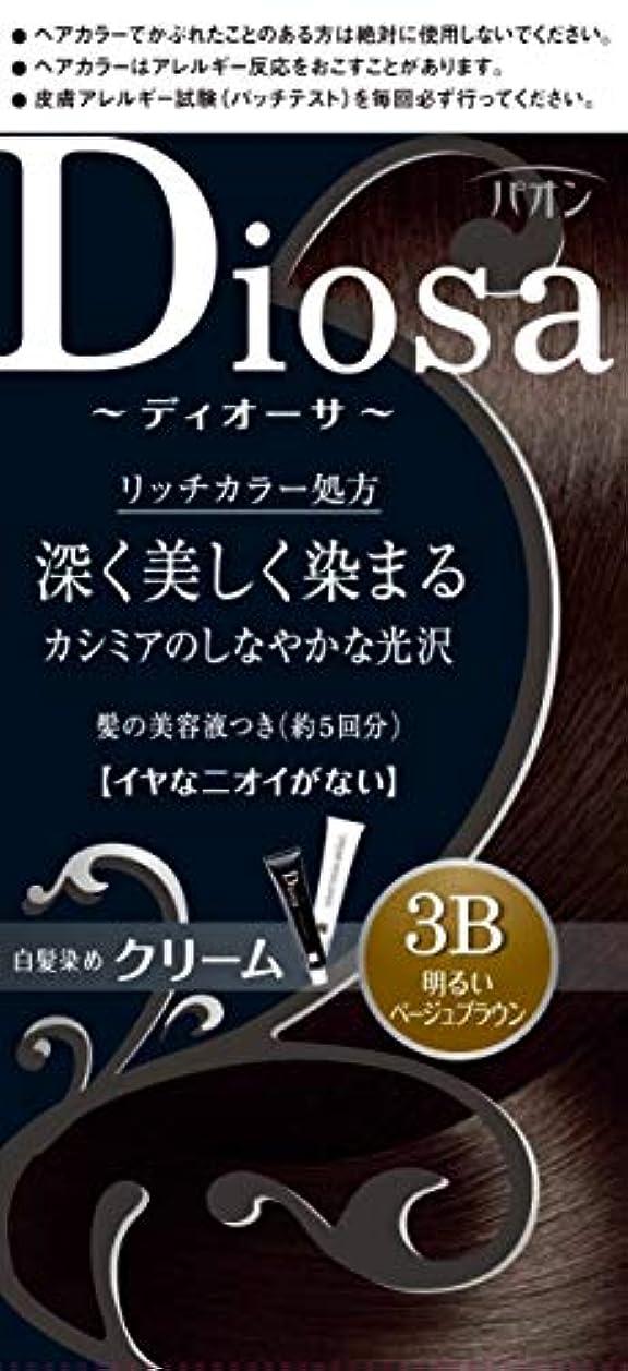 スタッフ大統領編集者パオン ディオーサ クリーム 3B 明るいベージュブラウン 40g+40g 髪の美容液10g
