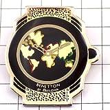 限定 レア ピンバッジ ベネトン腕時計ブローバ製 ピンズ フランス