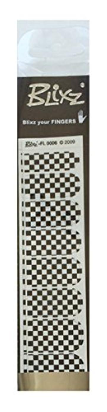 反発ディレイ備品Blixz ブリックス  ホワイト/Bチェック