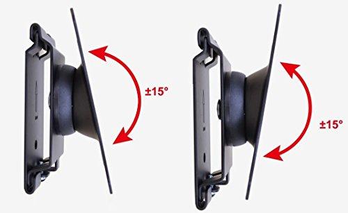 trust map 液晶モニター 15型-27型対応 壁掛け ホルダー 角度調整 上下左右可能