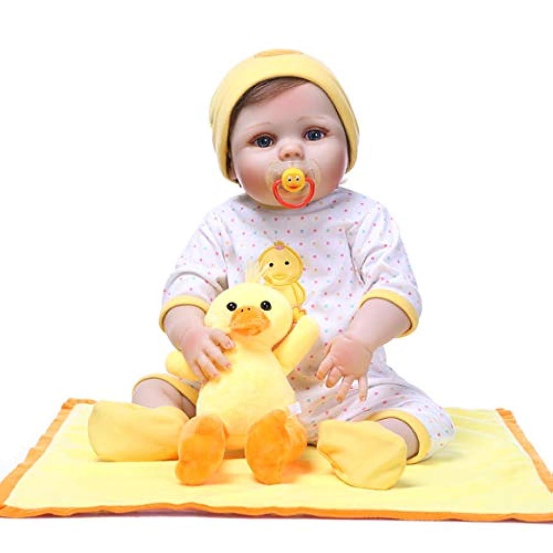 避ける腐食するスキーム赤ちゃんのアヒルの人形の写真のトレーニング人形新生児の写真の小道具ポーズ小道具姿勢トレーニング人形(色:黄色)