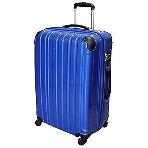 (シェルポッド) shellpod スーツケース HZ-500 大型 LMサイズ 鏡面ブルー【LM/BL】