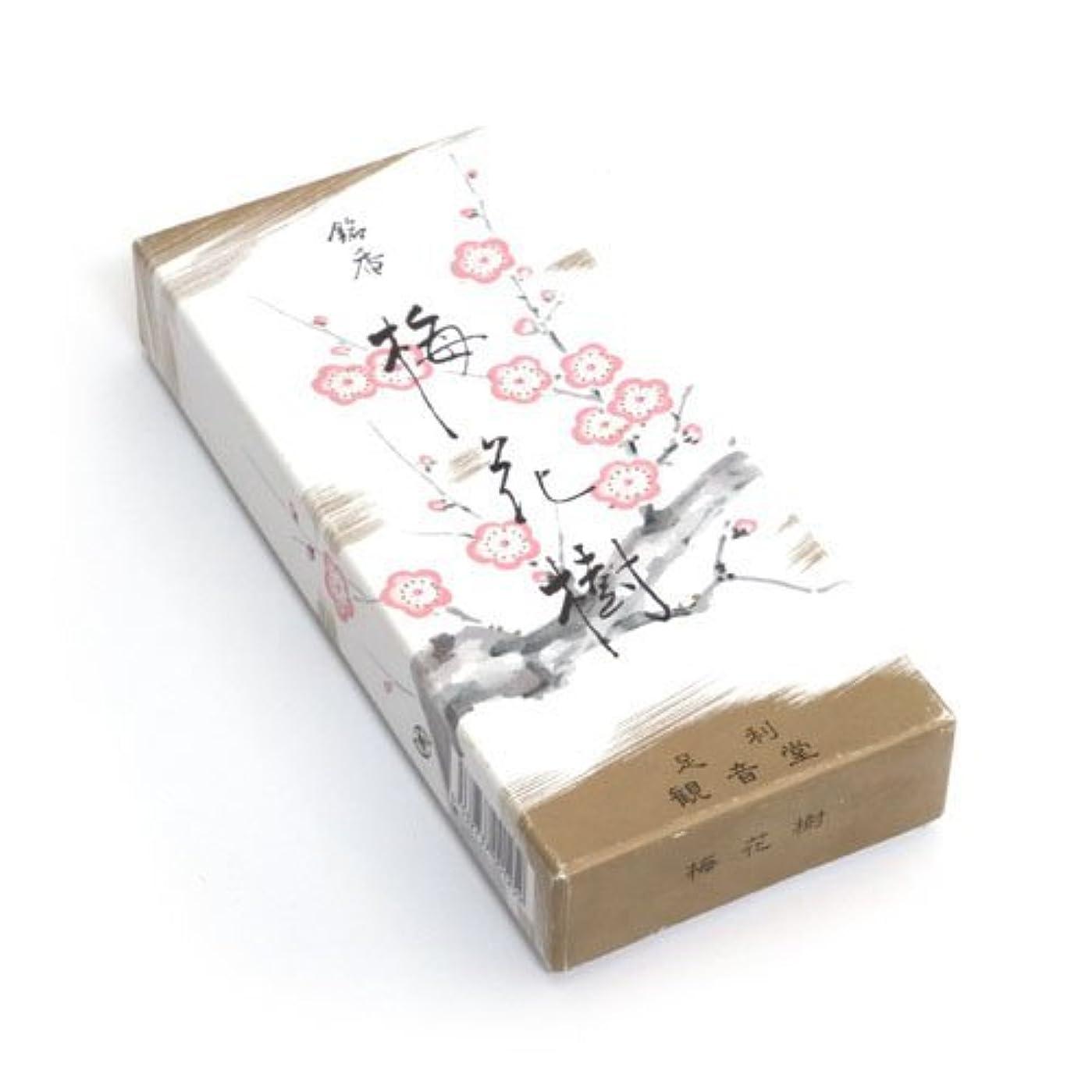 腹国勢調査プラスShoyeido 's Plum Blossoms Incense、150 sticks – baika-ju