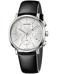 [カルバンクライン]CALVIN KLEIN 腕時計 クロノグラフ Posh(ポッシュ) シルバー×シルバー K8Q371C6 メンズ 【正規輸入品】