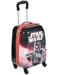 Star Wars スピナートロリー独占デザインの子供ハードサイド荷物ケース18インチ