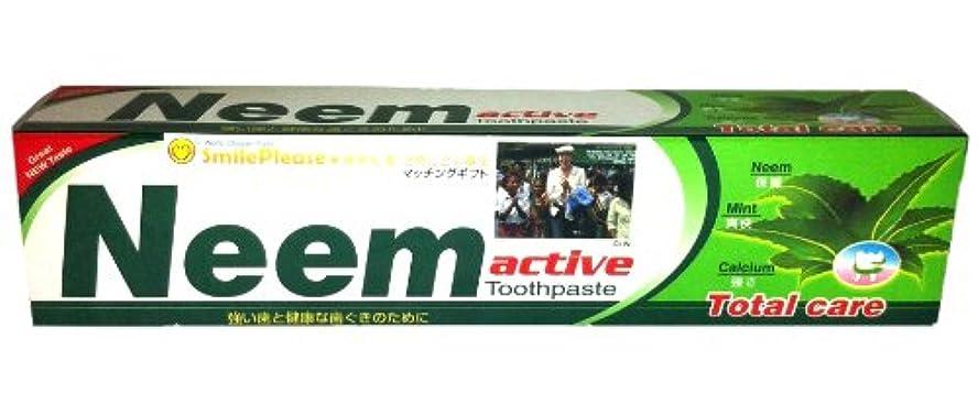 口径中央値帳面ニーム(Neem) 歯磨き粉 200g