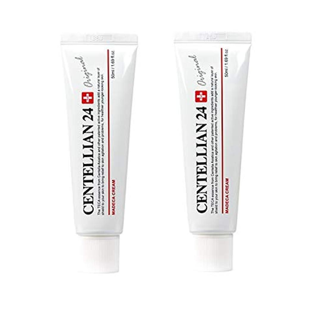 センテルリアン24マデカクリム50ml x 2本セット肌の保湿損傷した肌のケア東国 韓国コスメ、Centellian24 Madeca Cream 50ml x 2ea Set Skin Moisturizing Damaged...