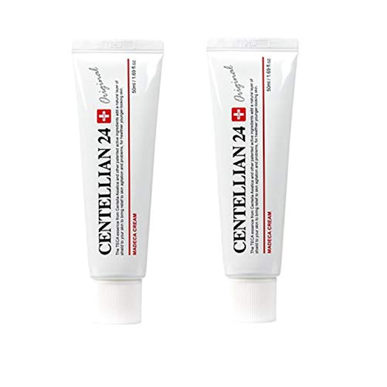 型存在面積センテルリアン24マデカクリム50ml x 2本セット肌の保湿損傷した肌のケア東国 韓国コスメ、Centellian24 Madeca Cream 50ml x 2ea Set Skin Moisturizing Damaged...