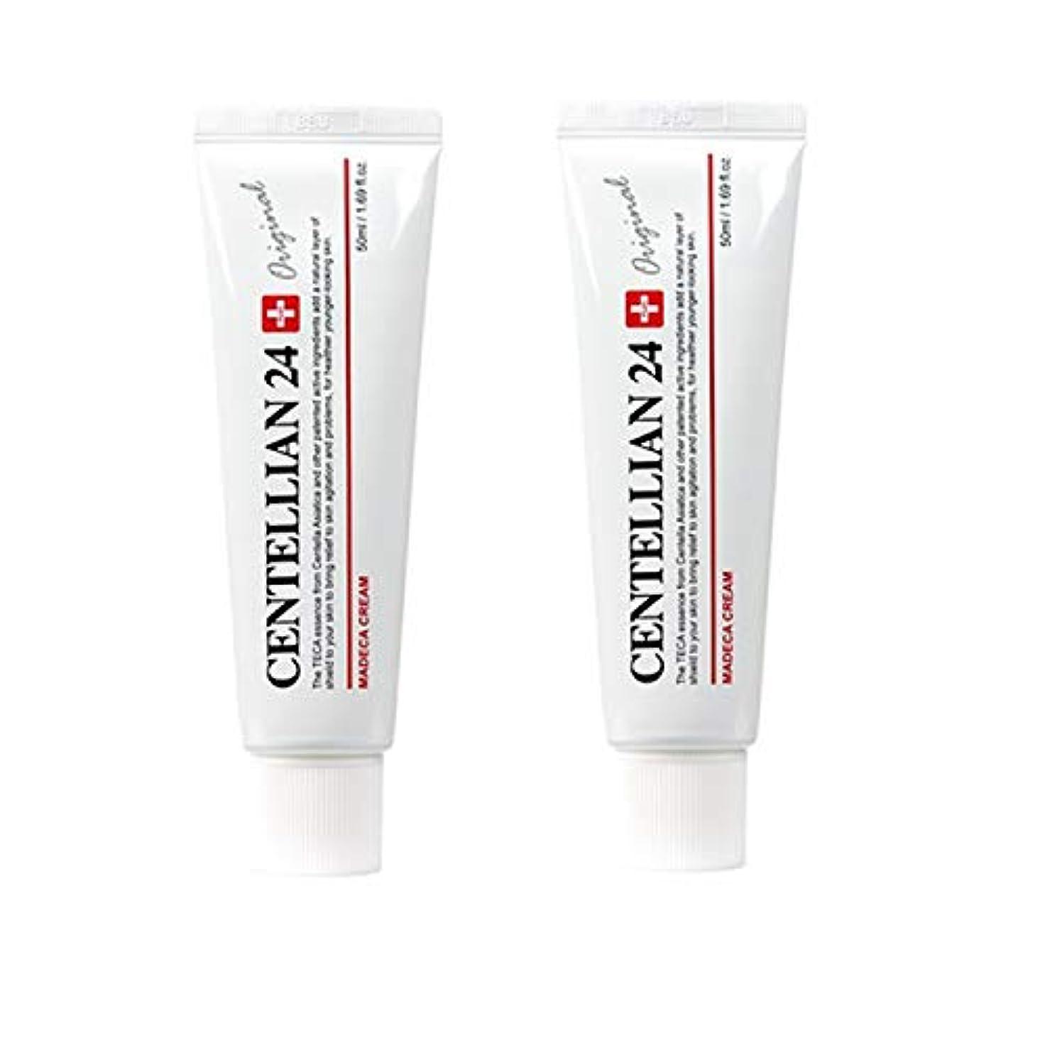 教授セグメントそれにもかかわらずセンテルリアン24マデカクリム50ml x 2本セット肌の保湿損傷した肌のケア東国 韓国コスメ、Centellian24 Madeca Cream 50ml x 2ea Set Skin Moisturizing Damaged...