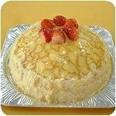 フルーツミルクレープ 【7号 21cm バースデーケーキ 誕生日ケーキ デコ】::128