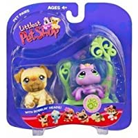 Littlest Pet Shop Pet Pairs Asst - Dog and Spider by Hasbro [並行輸入品]