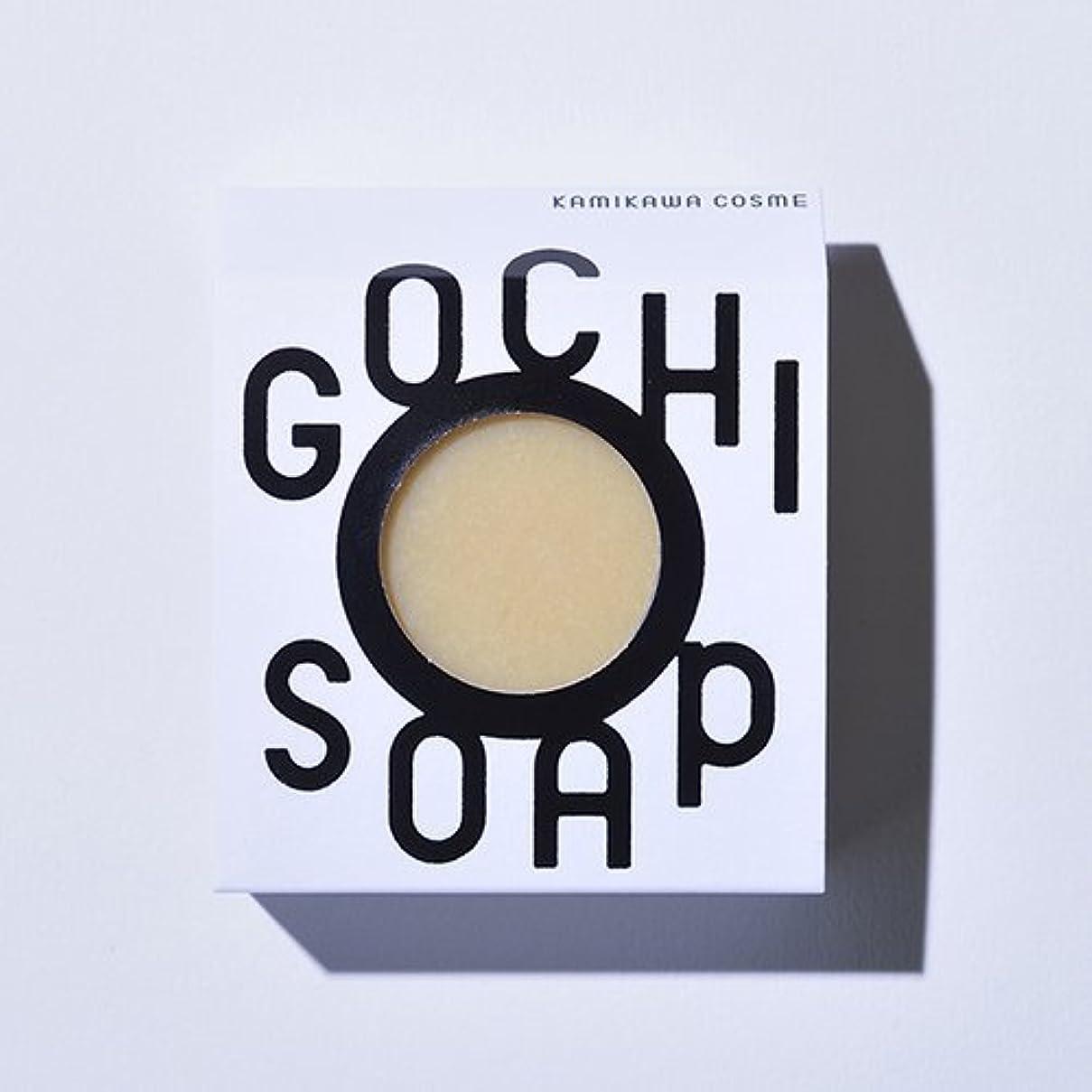 のれん役員ロードハウスGOCHI SOAP ゴチソープ 山路養蜂園の蜂蜜ソープ