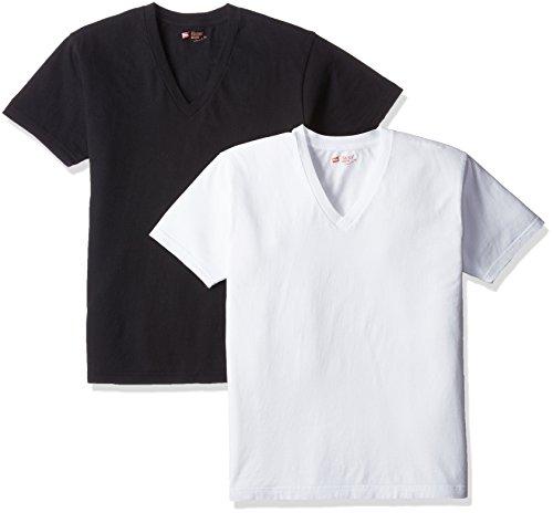 (ヘインズ) Hanes Tシャツ ジャパンフィット Vネック 2枚組【アソート】 H5125 998 アソート M