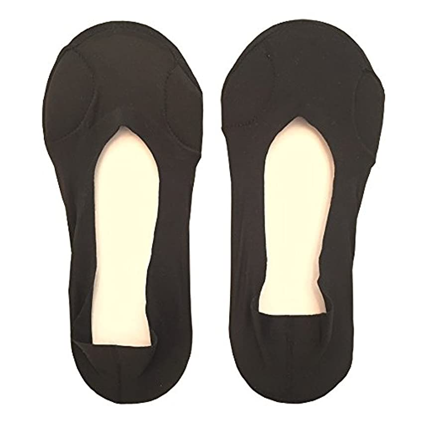熱帯の仕方情熱DrScholl(ドクターショール)靴ずれ防止フットカバー 指両側クッション付き 8805DR-07 ブラック