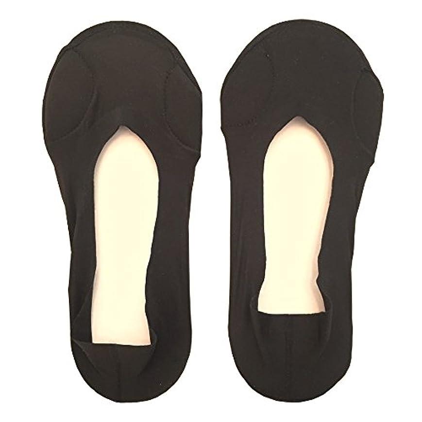 落花生些細な論理的にDrScholl(ドクターショール)靴ずれ防止フットカバー 指両側クッション付き 8805DR-07 ブラック