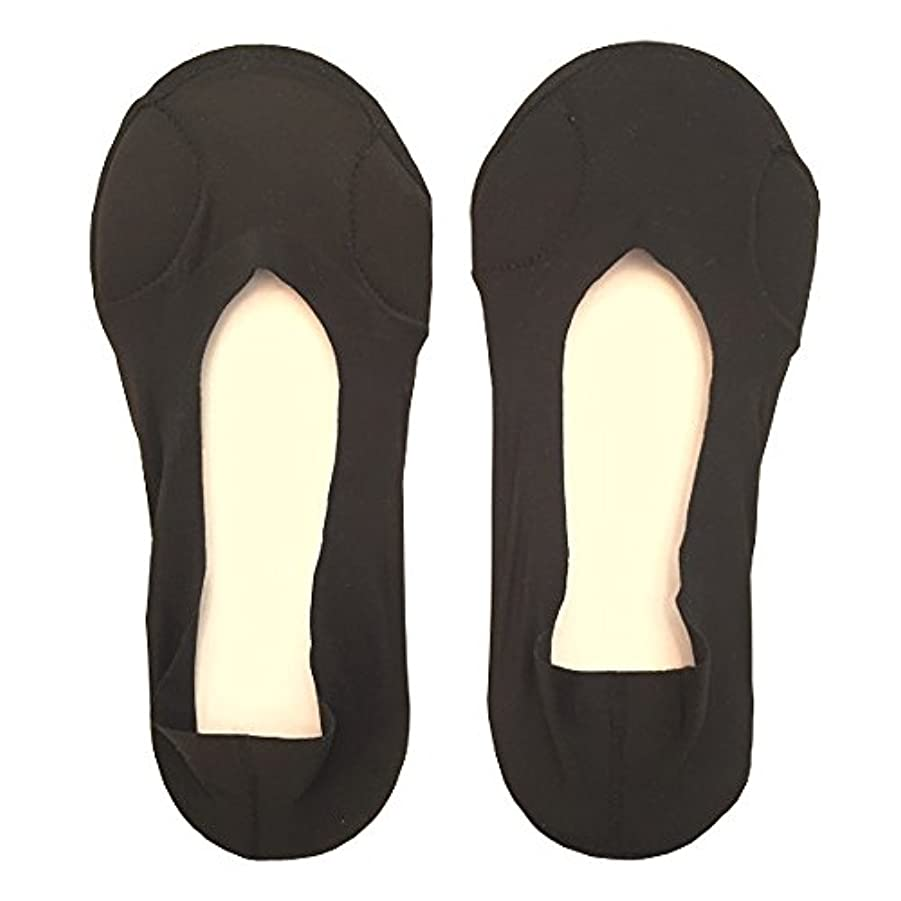 どきどき食欲ソーセージDrScholl(ドクターショール)靴ずれ防止フットカバー 指両側クッション付き 8805DR-07 ブラック