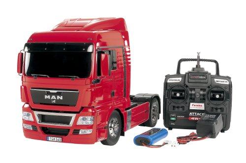 1/14 電動RCビッグトラックシリーズ No.31 MAN TGX 18.540 4 × 2 XLX (レッドエディション) フルオペレーションセット プロポ付き完成品 56331
