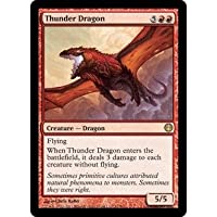 英語版 デュエルデッキ: ナイツvsドラゴンズ Duel Decks: Knights vs. Dragons DDG Thunder Dragon マジック・ザ・ギャザリング mtg