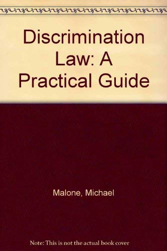 Download Discrimination Law: A Practical Guide 0749408243