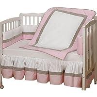 Baby Doll Bedding Classic II Mini Crib/ Port-a-Crib Bedding Set, Pink by BabyDoll Bedding