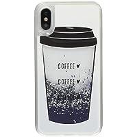 Casetify iPhone X ケース Exclusive Glitter coffee-coffee- coffee CTF-4369338-371604